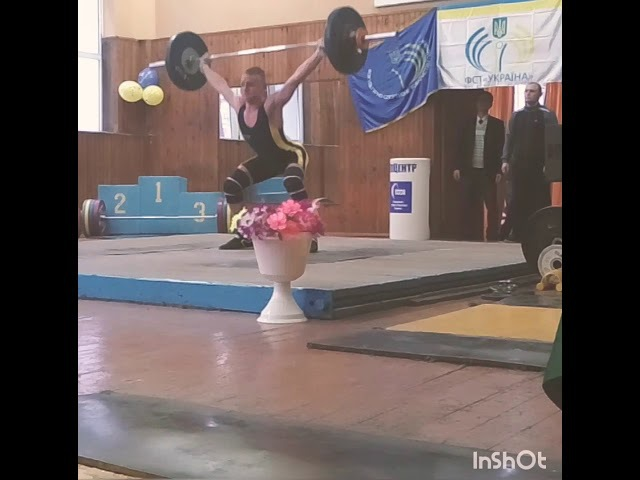 Рывок 73kg Овчаренко Влад