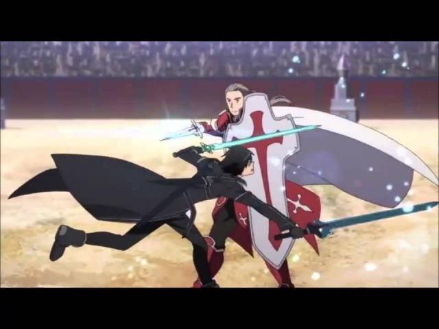Мастера меча Sword Art Online Клип AMV skillet rise
