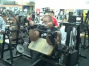Victor Martinez Biceps Training