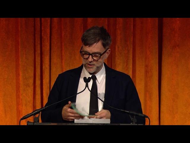 NBR Gala 2018 - Paul Thomas Anderson (Best Original Screenplay)