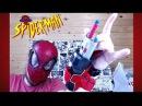 Игрушки Spider-Man - Маска и Нерф бластер - Nerf ЧЕЛОВЕК ПАУК обзор
