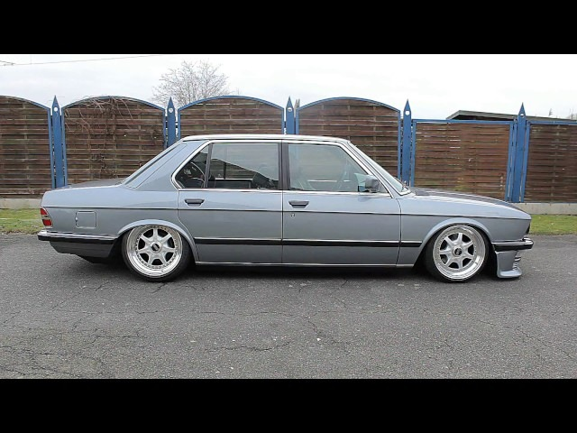 Bmw e28 with airride stance camber BBS Ak Society