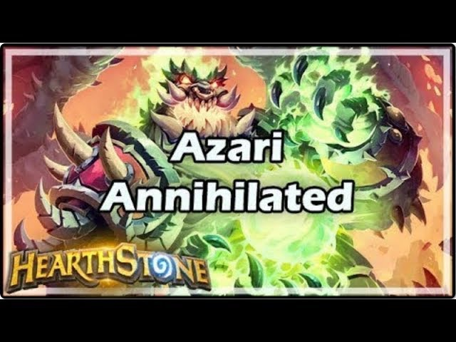 [Hearthstone] Azari Annihilated