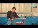 Andre Poggenburg Politischer Aschermittwoch der AfD in Pirna / SOE / Sachsen