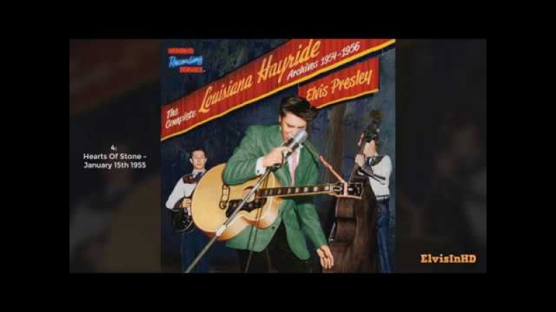 Fully Complete Louisiana Hayride Concert (1954 - 1956) - Elvis Presley [HQ]