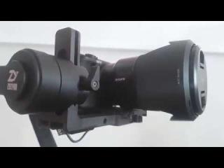 Zhiyun Crane 2v3 управление камерами Sony на примере a6300