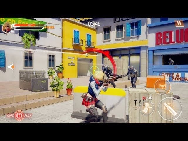 New!! Unreal Engine 4 Game | AVA : GUN OF FIRE Android / IOS Gameplay and apk