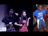 TWICE Momo and Chaeyoung dancing to Hit Dem Folks, Milly Rock, Backpack Kid, Whip It