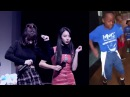 TWICE Momo and Chaeyoung dancing to Hit Dem Folks Milly Rock Backpack Kid Whip It