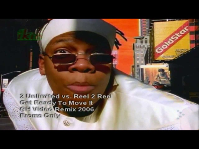 2 Unlimited vs Reel 2 Reel--Get ready to move It (Videoclip PO 1996) (Audio Ing. Sub. Esp./Ing.).HD