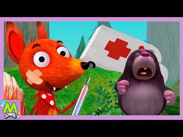 Доктор для Животных Играем в Больницу Волшебный Кабинет Доктора Лисенка Игровой Мультик для Детей