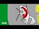 Коты-воители смерть Белогривки -monster Remix
