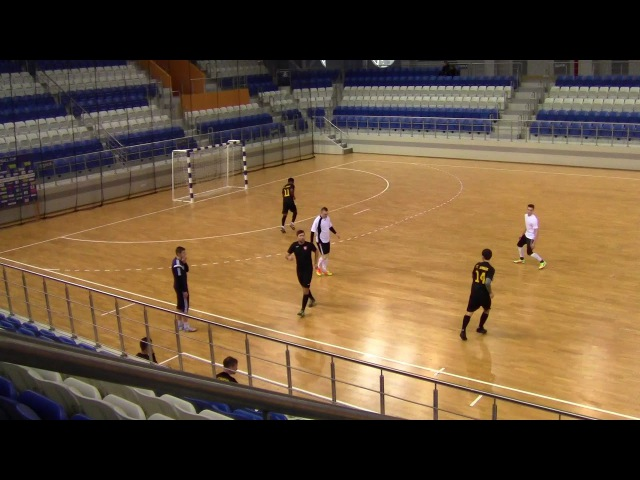 Юниор 3-1 Горизонт-ЦТДМ. Мини-футбол 20172018. 11-й тур. Высшая лига (21.01.2018)