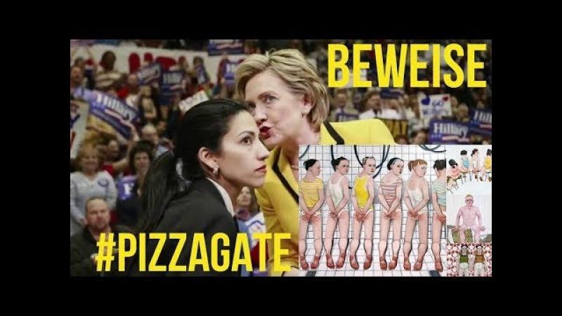 PIZZAGATE Hillary Clinton Huma Abedin KINDESMISSBRAUCH VIDEO BEWEIS wird veröffentlicht.