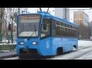 Трамвай 71-619 (КТМ-19) №5355 Московский Транспорт с маршрутом №36
