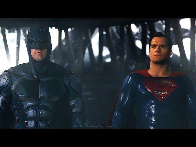 Whedon Deleted Scene 'Justice League' (No Audio)