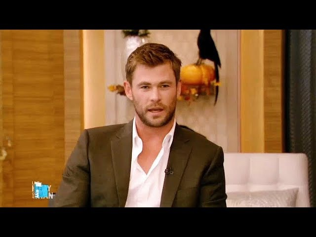 Chris Hemsworth and Millie Bobby Brown Interview on Live with Kelly and Ryan (January 3, 2018)