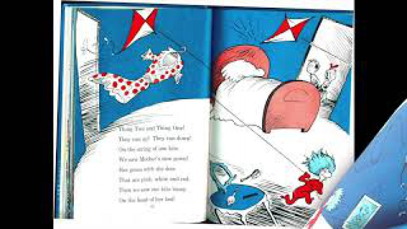 Part II The Cat in the Hat by Dr. Seuss I Read Aloud Picture Book
