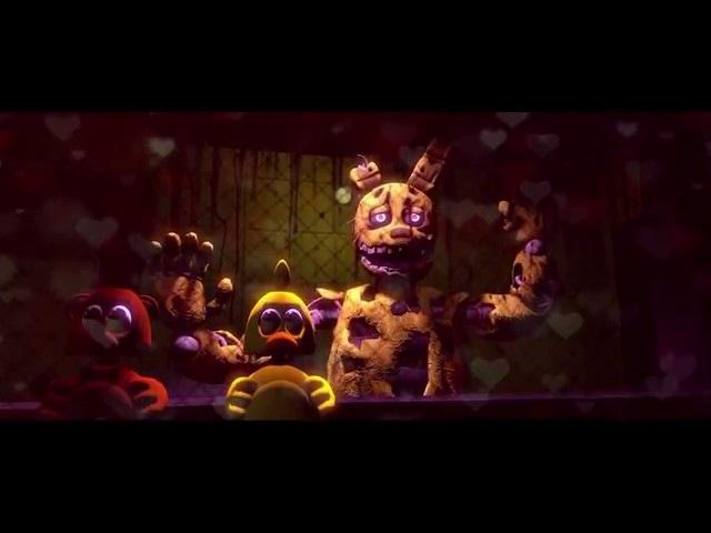 FNAF 5 ночей с Фрэдди Смешная любовь Animation save4 net