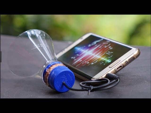 How to Make a Speaker at Home with Using Plastic Bottle