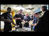 Life aboard US Navy USS Carl Vinson (CVN-70)