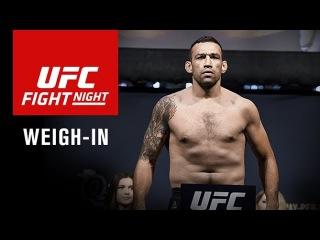 Прямая трансляция церемонии взвешивания участников турнира UFC Sidney.