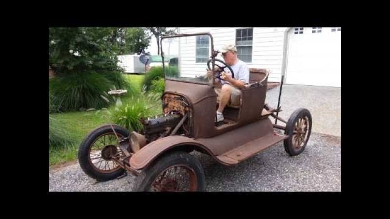 Model T Ford Starts after 60 years