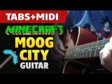 Minecraft Moog City (guitar tutorial)