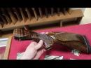 Приклад и цевье ИЖ-27 (МР-27) тигровый орех, Монте Карло, для ружей старого образца