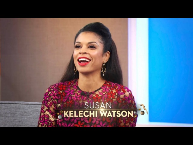"""TUESDAY: """"This Is Us"""" Star Susan Kelechi Watson Operation BBQ Relief!"""