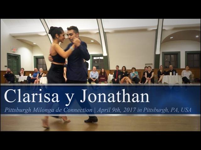 Clarisa Aragón y Jonathan Saavedra (3/4) - Recuerdo @ Pittsburgh Milonga de Connection 2017.04.09