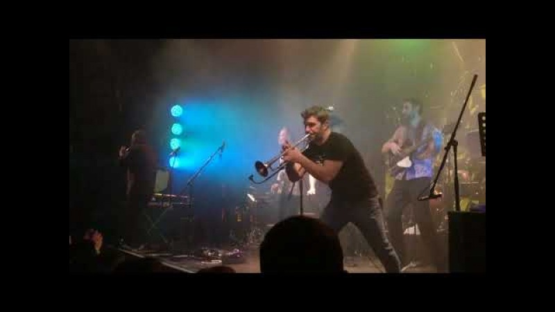 Zdob Si Zdub, live, Спб, 10.03.2018, Космонавт