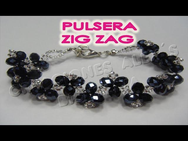 Bisuteria Pulsera Zig-Zag................((44))