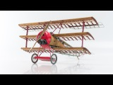 Red Baron's famous triplane