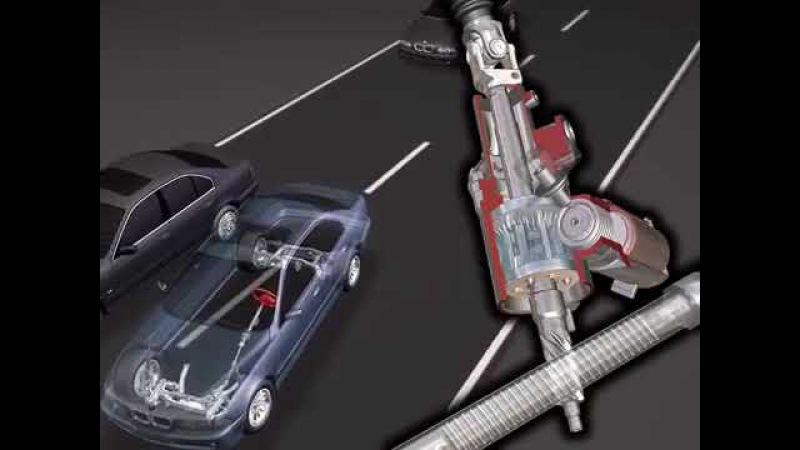 Адаптивний підсилювач рульового механізму