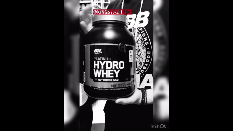 Видеообзор Platinum HydroWhey от Optimum Nutrition от @kingstar4you
