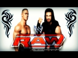 WWE RAW | Roman Reigns | John Cena Sign Their Contract For No Mercy