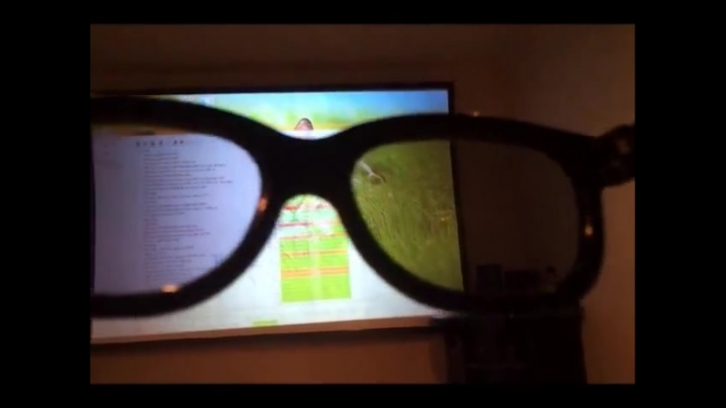 Dual Projector DIY - LED - 3D PASSIVE - In Brazil ( 480 X 640 )