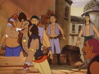 Пираты тёмной воды: Сказание начинается / Pirates of Dark Water: The Saga Begins. 1991. Перевод Андрей Дольский. VHS
