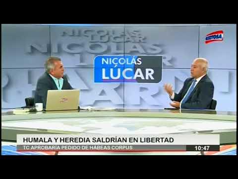 TC debería otorgar libertad de Humala y Heredia al NO existir peligro de fuga