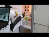 Робот приносит пиво из холодильника. NVIDIA Jetson Challenge
