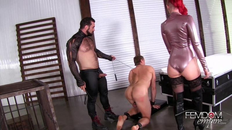 Mistress Sully & Master Jaxton - Submissive Cuckold