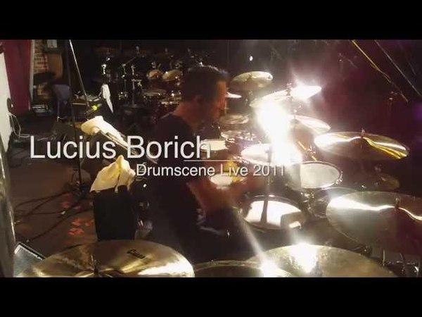 LUCIUS BORICH DRUMS - LIVE DRUM CAM Drumscene Festival