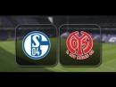 Шальке 04 - Майнц 05. Обзор матча ⚽ 9 тура Чемпионата Германии 2017/18🏆🇩🇪