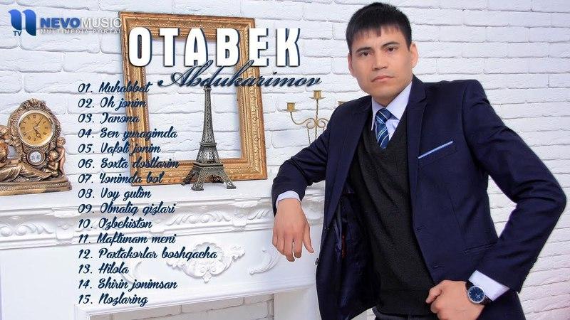 Otabek Abdukarimov Muhabbat qo'shiqlar to'plami