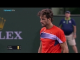 Hot Shot_ Lopez Shows His Prowess At Net Indian Wells 2018
