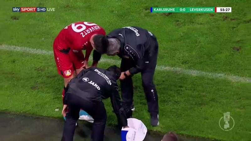 Кубок Германии 1718 1 раунд 11 08 17 Карлсруэ Байер Леверкузен