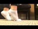 Белые носочки на ножках школьницы girls most hot white socks schoolgirl