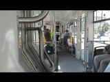 Поездка на трамвае Vario  LF22 IN