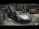 Grigio Titans Lamborghini Aventador LP750 4 SV Roadster